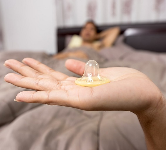According to statistics, if a condom is ALWAYS used perfectly - the probability of conception is only 3%